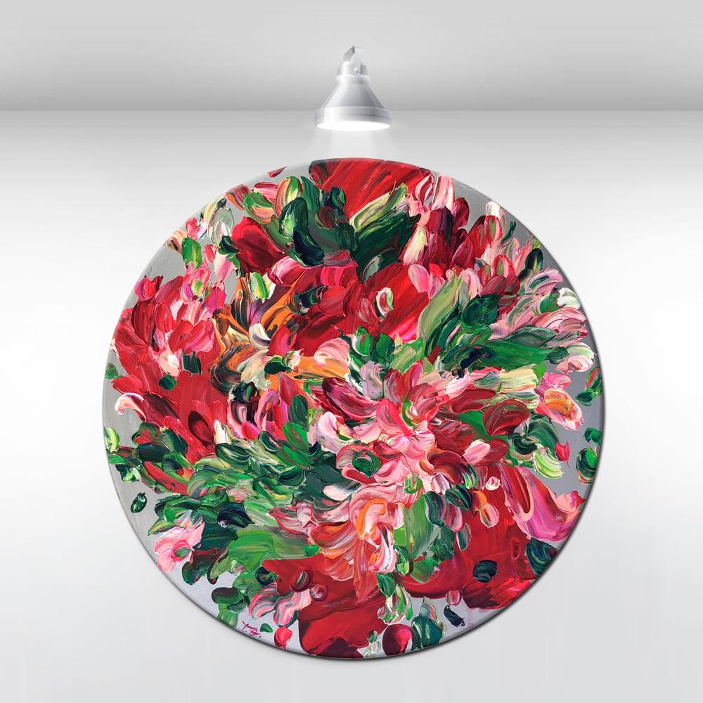 Image of Gardenium III - 50x50cm