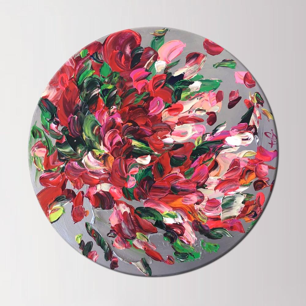 Image of Gardenium IV - 40x40cm