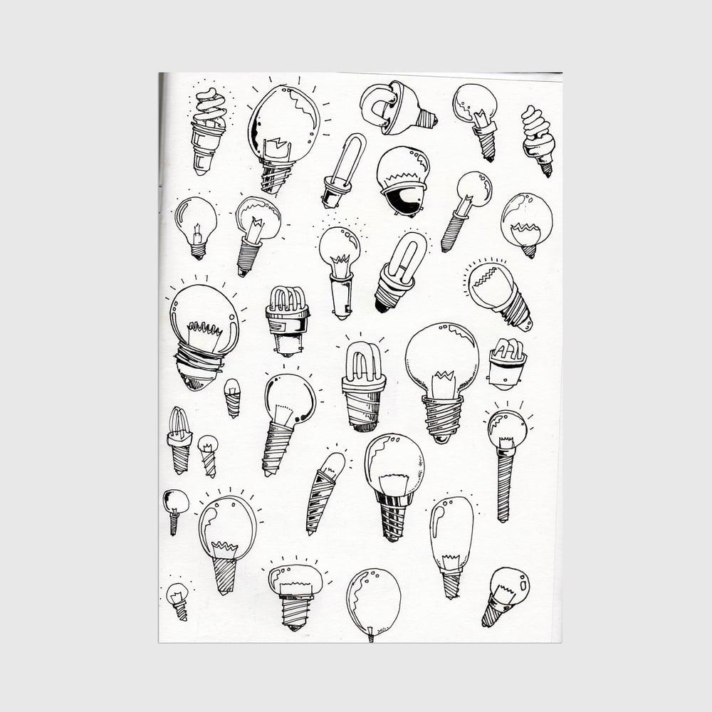 Image of A3 Bulbs Print