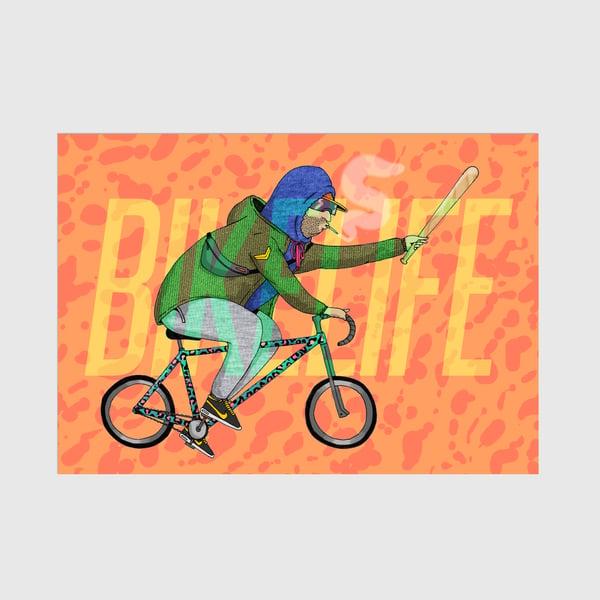 Image of A3 Bikelife Print