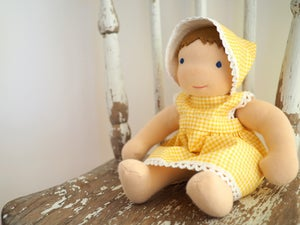 Image of Dress, bonnet and knickers for my baby doll.