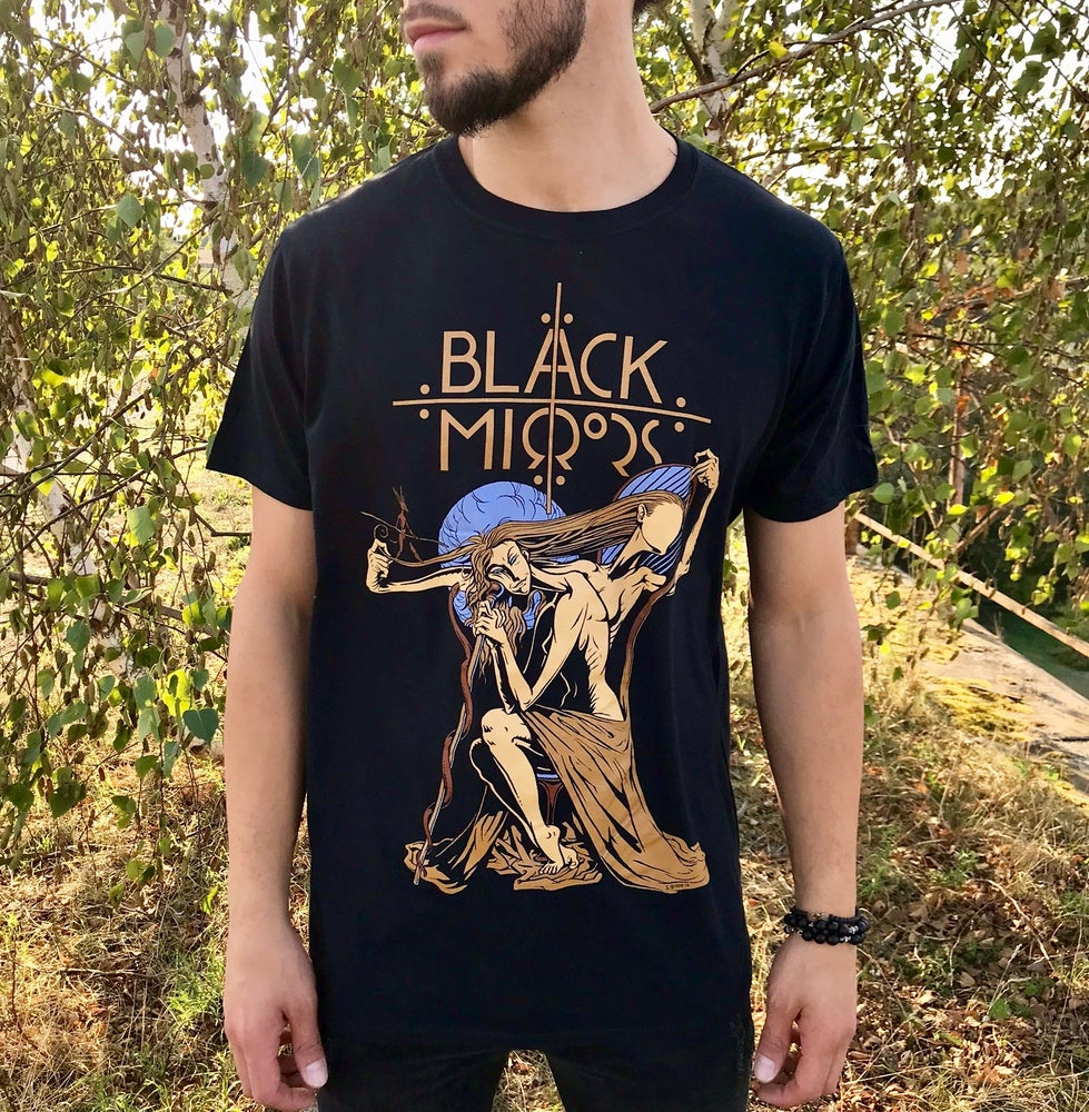 Image of Look Into The Black Mirror - T-shirt (Unisex)