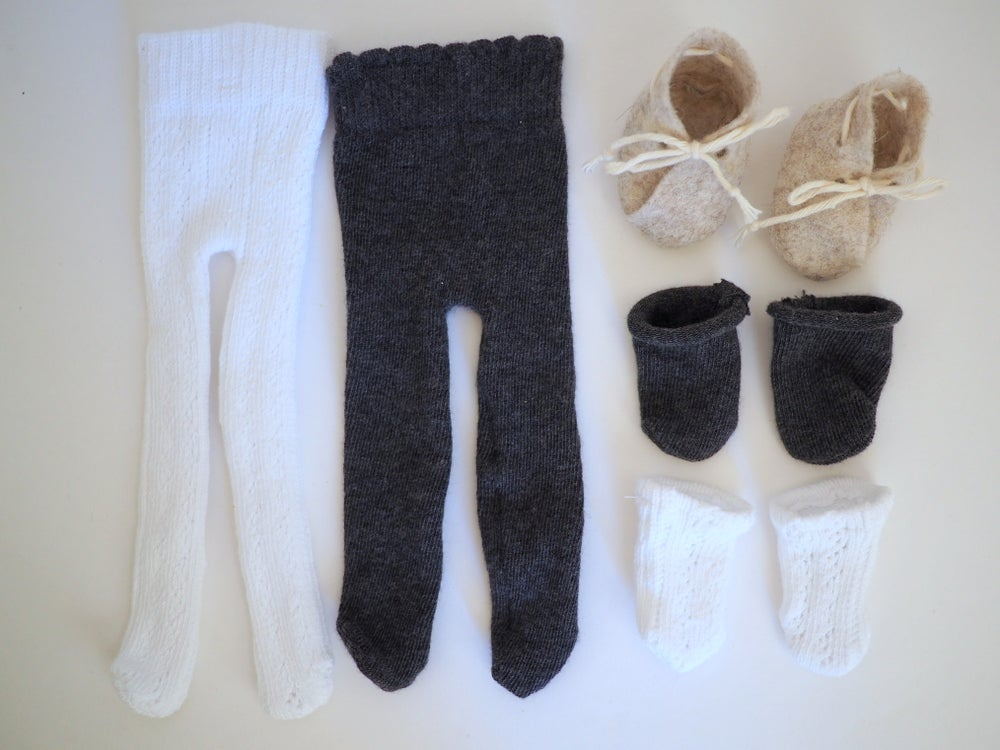 2282ffbb46229 Polly had a Dolly — 2 pairs of tights, 2 pairs of socks, and a pair ...