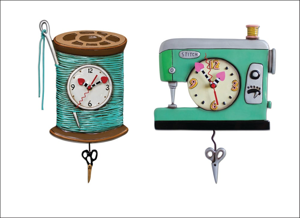 Image of Sewing Clocks