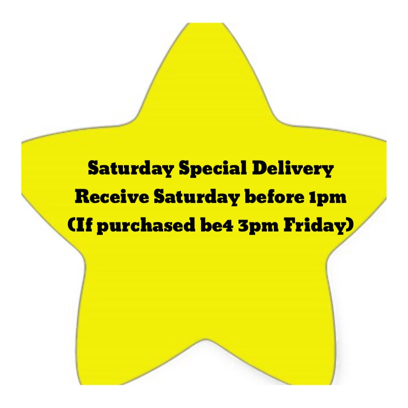 Image of Saturday Special Delivery (guaranteed Saturday before 1pm)