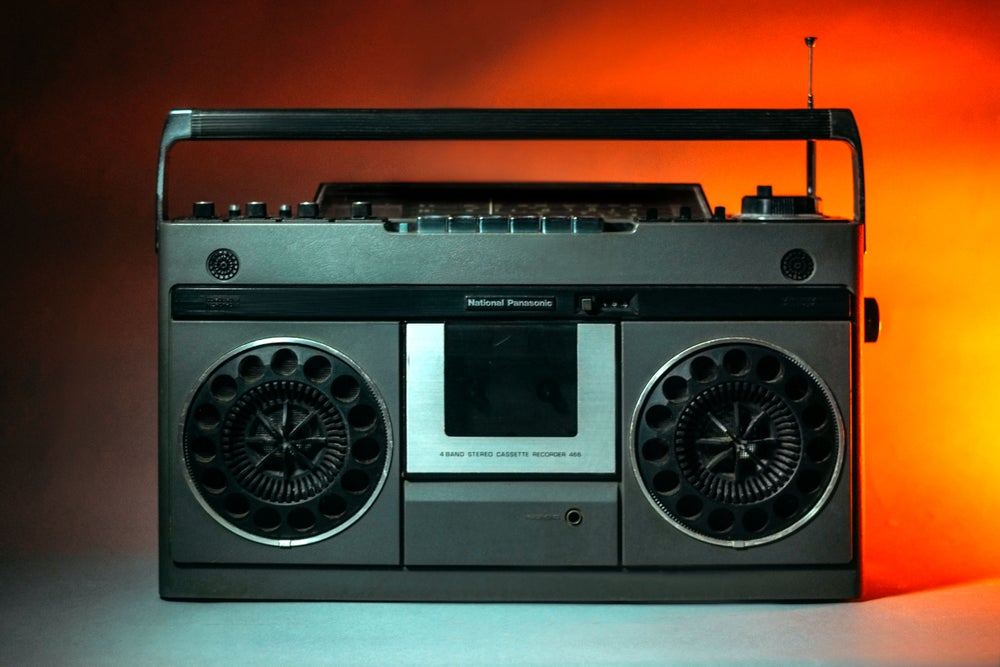 Image of NATIONAL PANASONIC 466 BLUETOOTH BOOMBOX (1975)