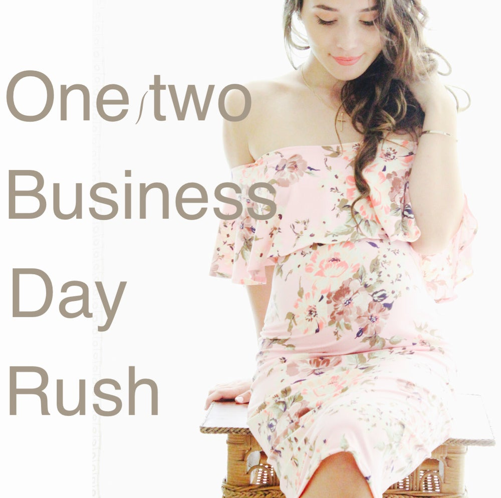 Image of 1/2 business day rush
