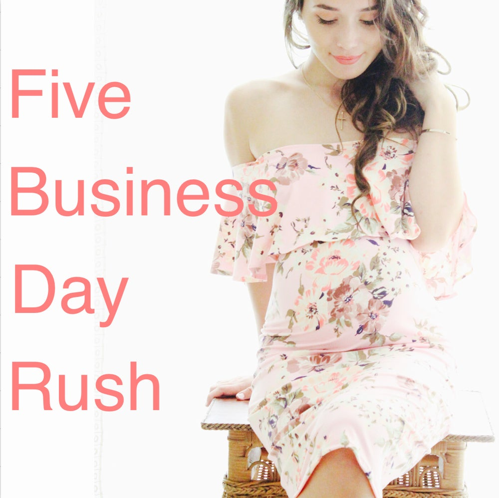Image of 5 business day rush