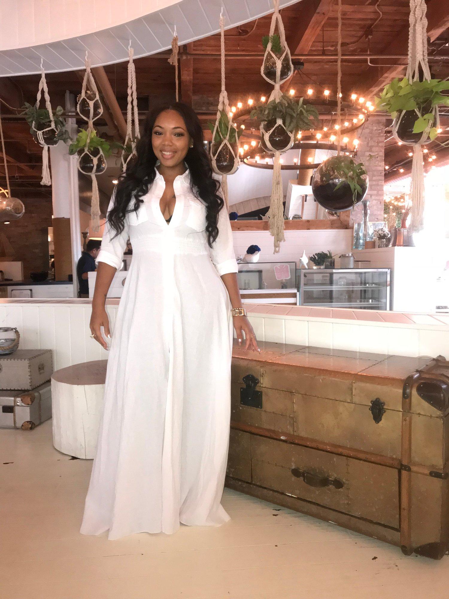 Image of White Maxi dress
