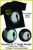"Image of SPEAR OF DESTINY 'Second Life' 7"" Single Bundle"
