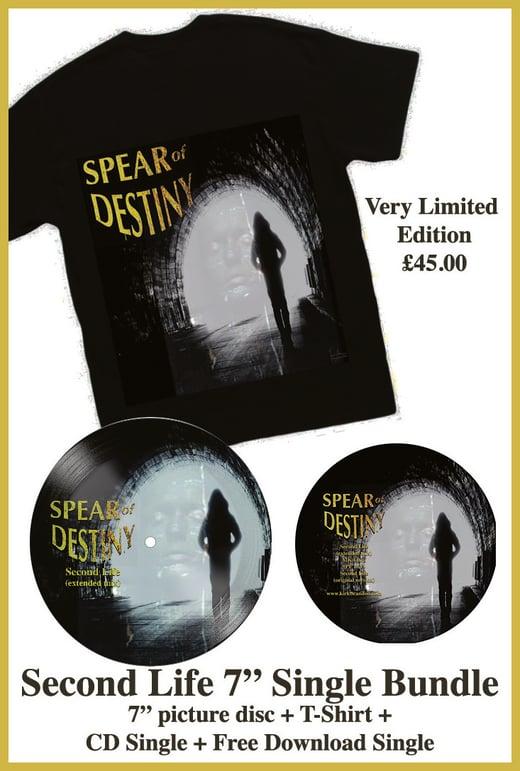 "SPEAR OF DESTINY 'Second Life' 7"" Single Bundle"