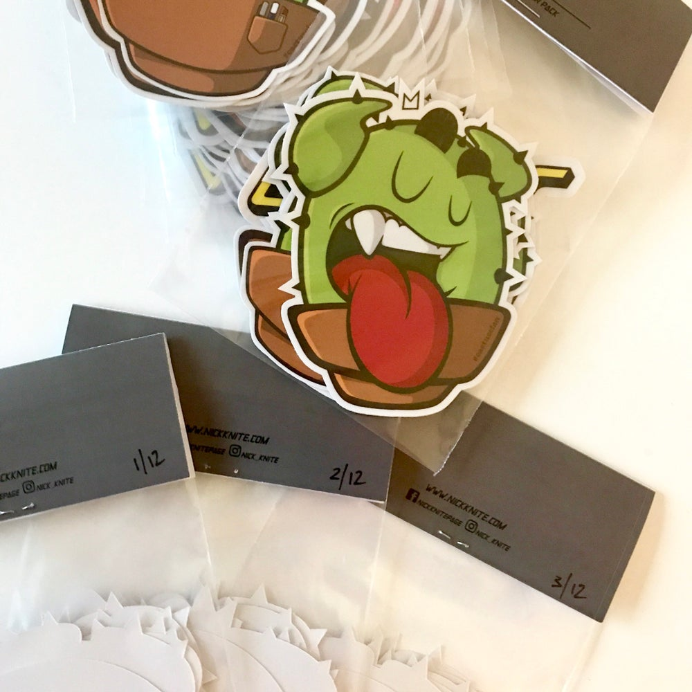 "Image of The ""Cactus Crew"" Sticker Pack"