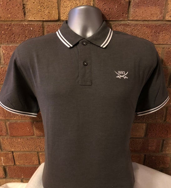 Image of Single colour grey  polo