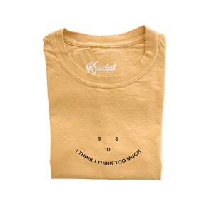 Image of SOS Tee (Mustard)