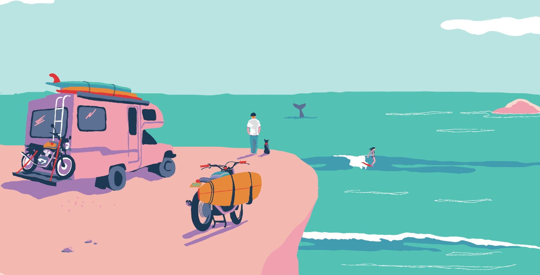 Image of Vista De Surf - limited run of 40