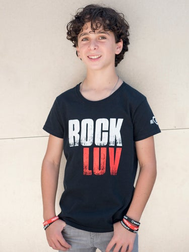 Image of ROCK LUV NOT HATE TEE
