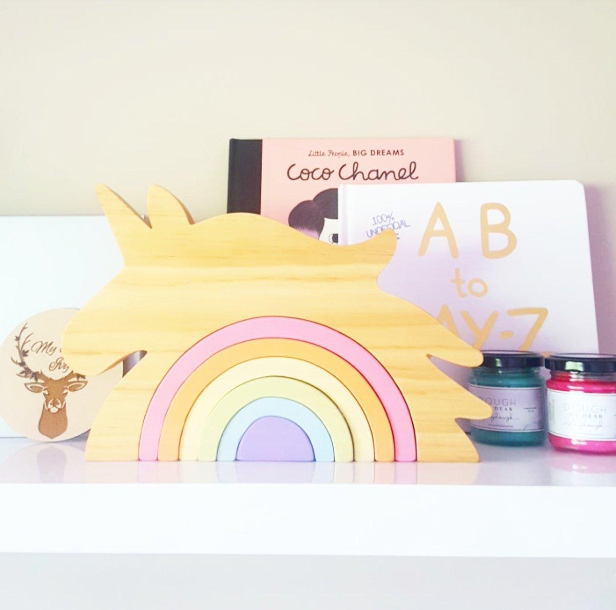 Image of Unicorn Rainbow Stacker