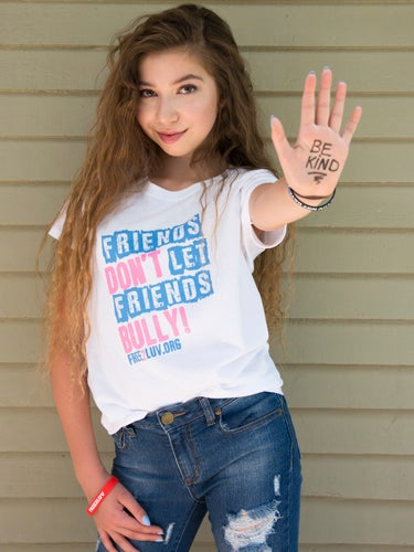 Image of FRIENDS DON'T LET FRIENDS BULLY TEE