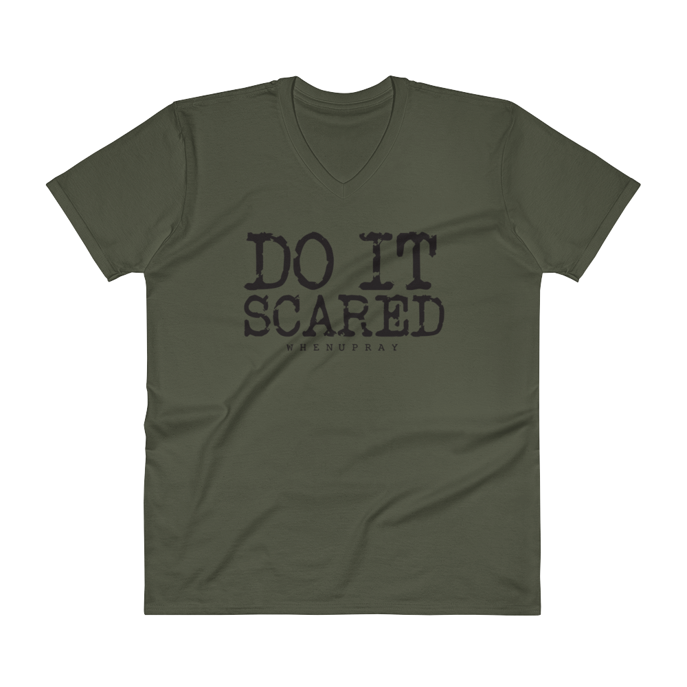 Image of Do it scared short sleeve Tee