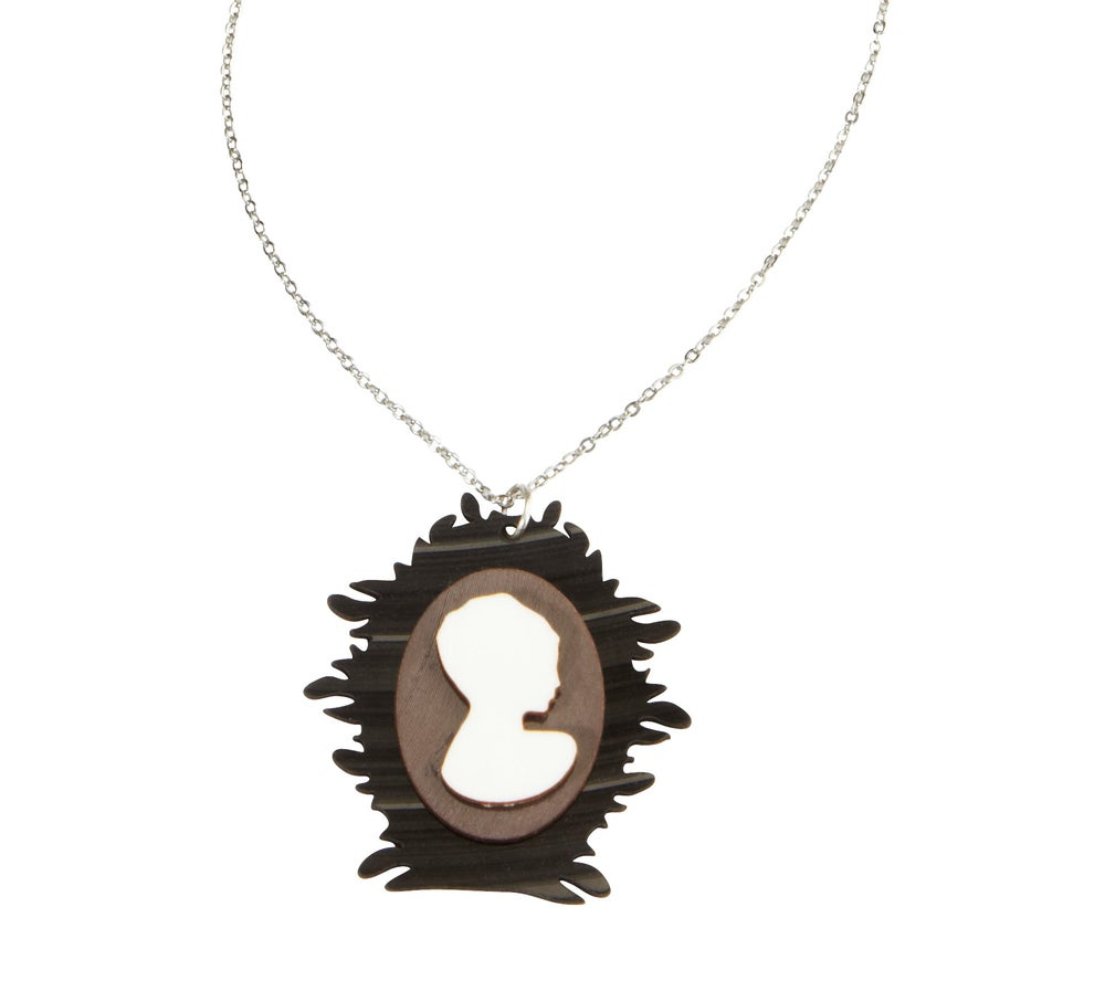 Image of My cameo never lies - necklace