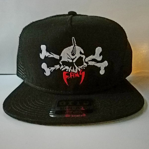 Image of FANG HAT-SKULL & CROSSBONES