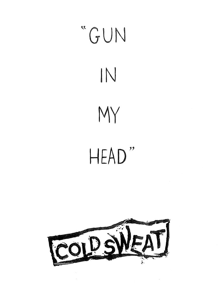 Image of Gun In My Head (A Cold Sweat Fanzine)