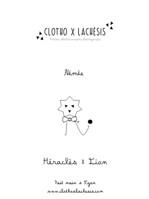 Image of HÉRACLES, Travail 1er {Nuage}