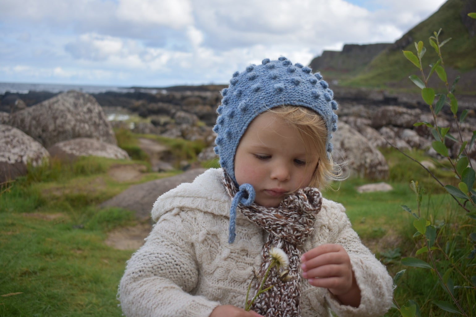 Image of Donegal Bobble Bonnet