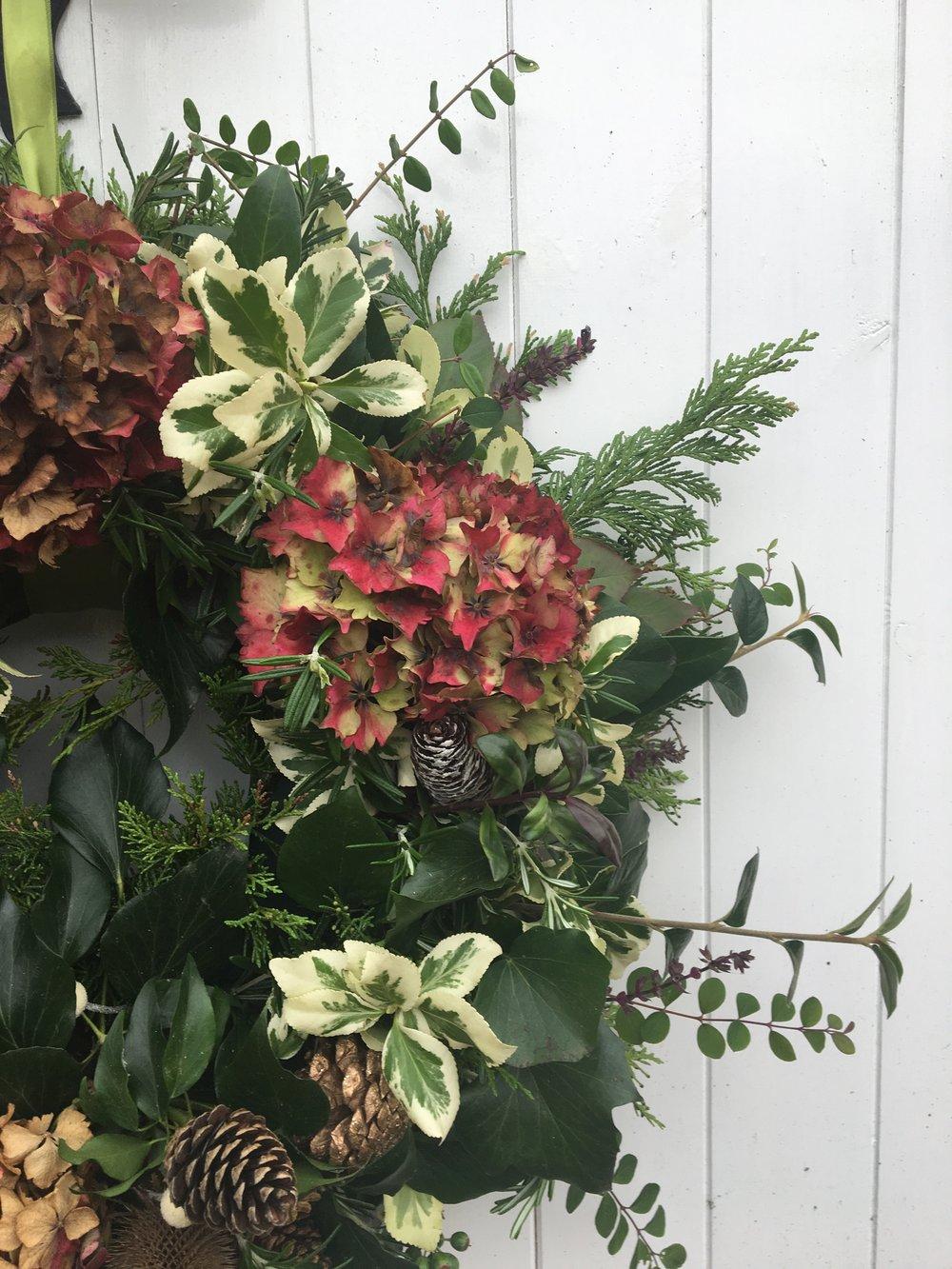Image of Christmas Wreath Making Workshop