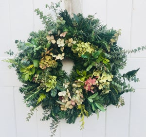 Image of Christmas Wreath  Workshop Winter 2021