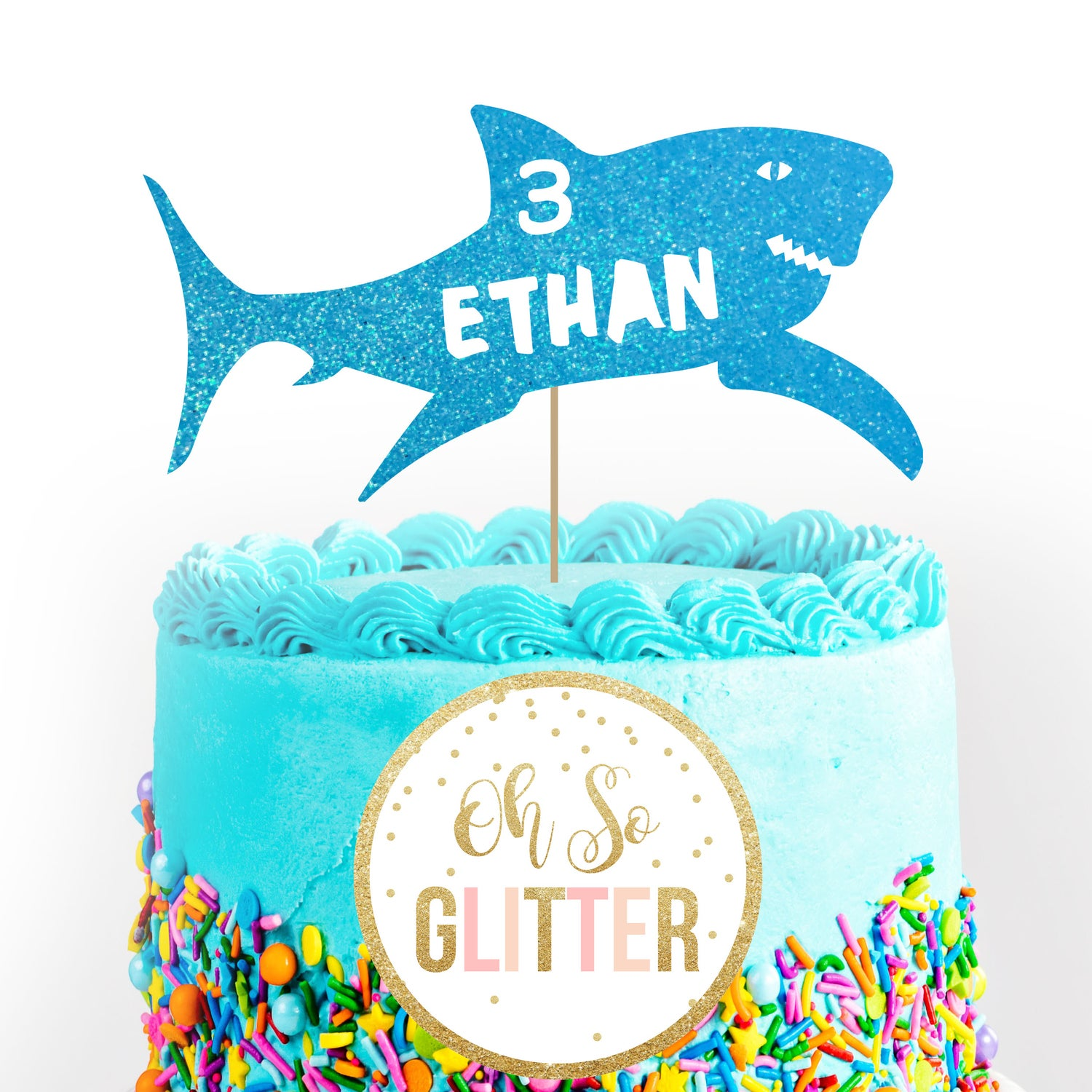 Image of Shark Cake Topper