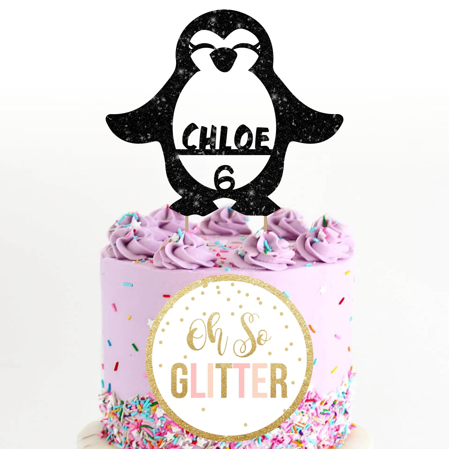 Image of Penguin Cake Topper
