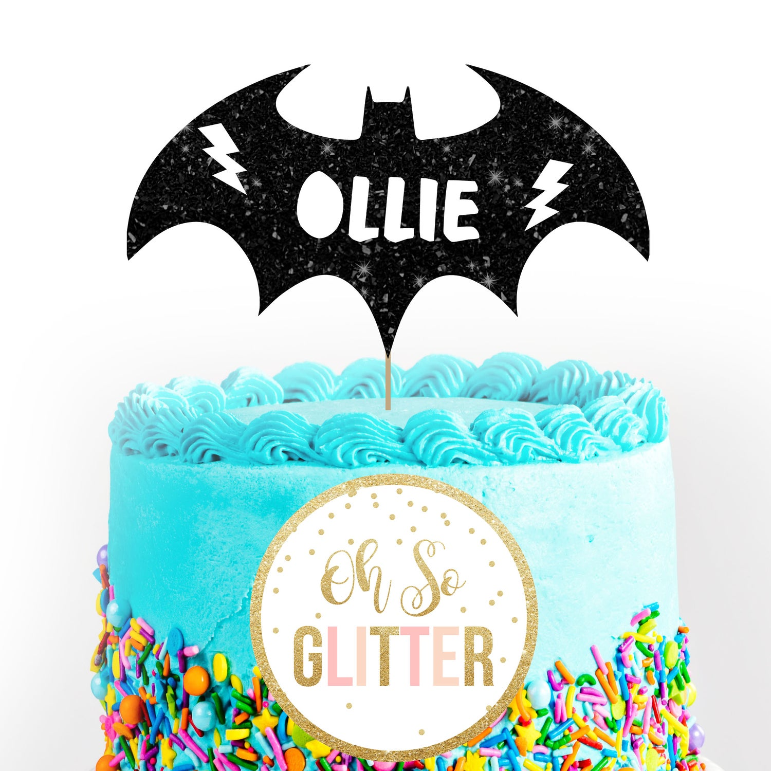Image of Bat Cake Topper