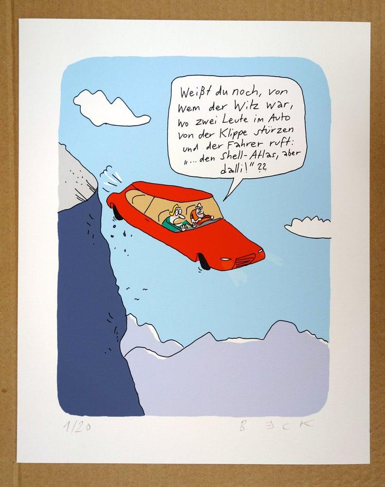 Image of Der Witz mit dem Shell-Atlas