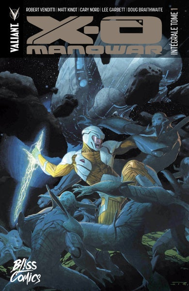 Image of X-O Manowar : Intégrale Tome 1 (2017)