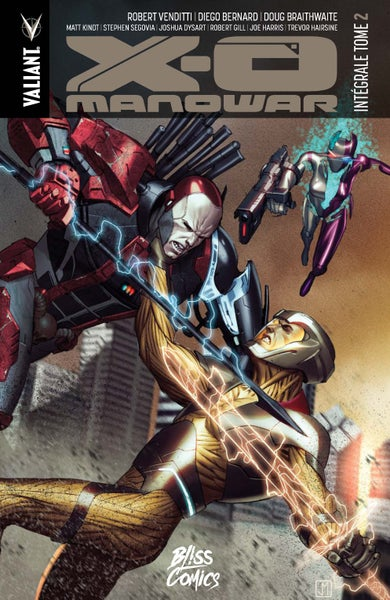 Image of X-O Manowar : Intégrale Tome 2 (2017)