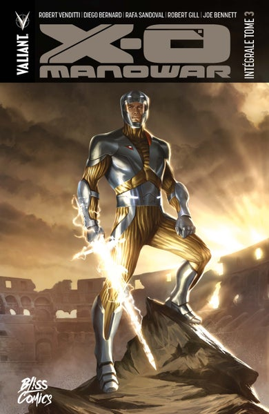 Image of X-O Manowar : Intégrale Tome 3 (2017)