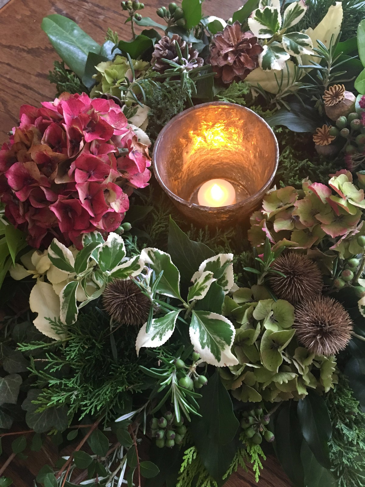 Image of Christmas Candle Centrepiece Workshop