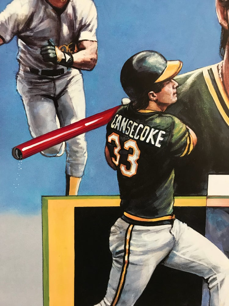Image of Jose Cansecocaine Shadow Box