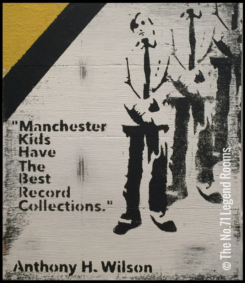 Image of Manchester Kids 40 x 30 cm original woodart original woodart
