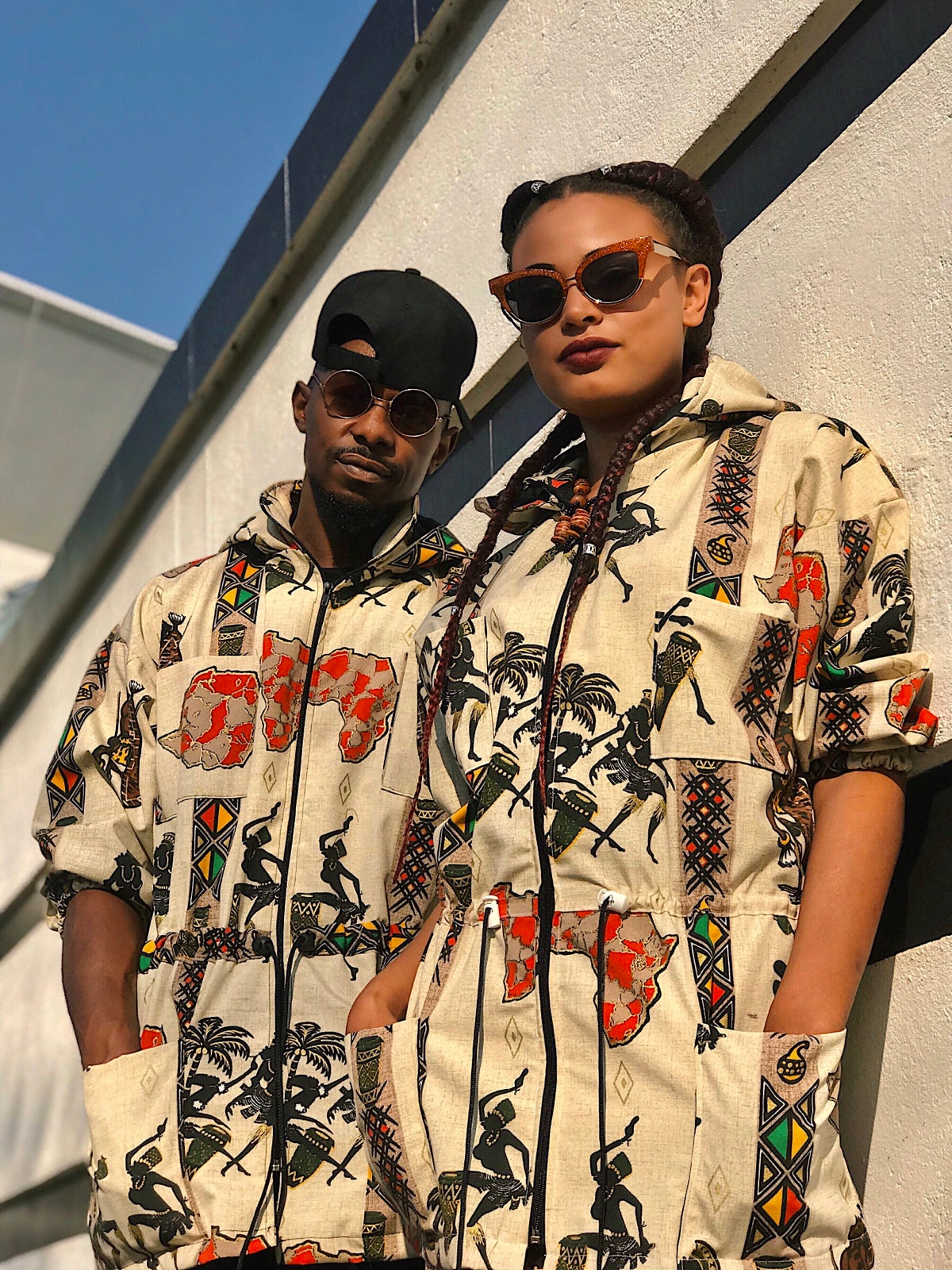Image of Unisex Zim Afro Dance Parka Jacket