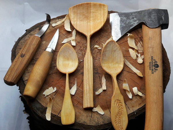Image of Beginners Spoon Carving workshop, 11th October 2020