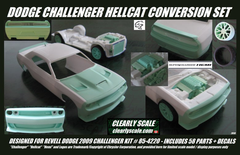 Image of Preorder * Hellcat Challenger Conversion Sets