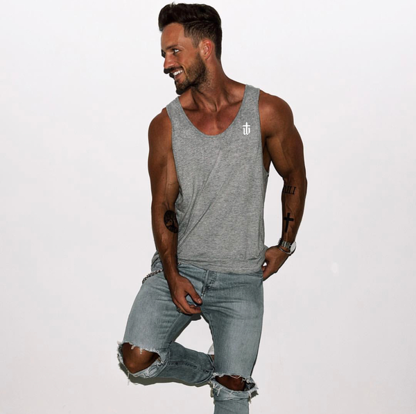 Image of MUSCLE VEST • GREY