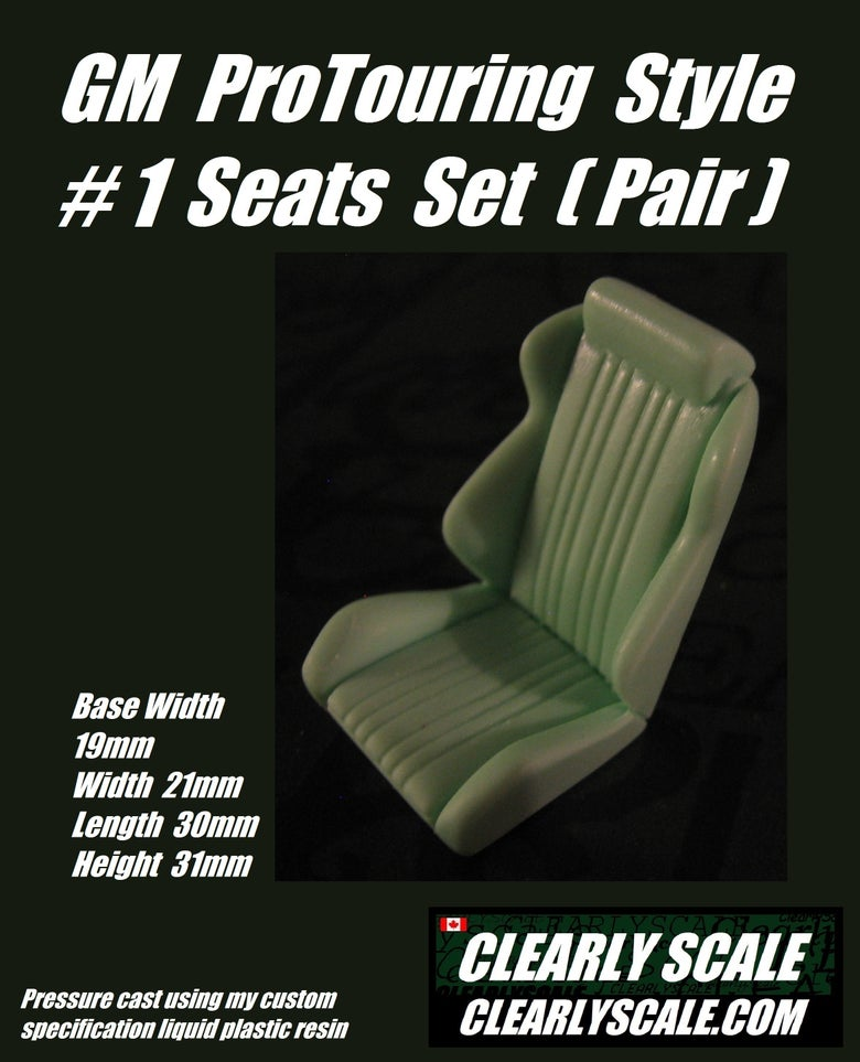 Image of GM #1 ProTouring Style Seat Set
