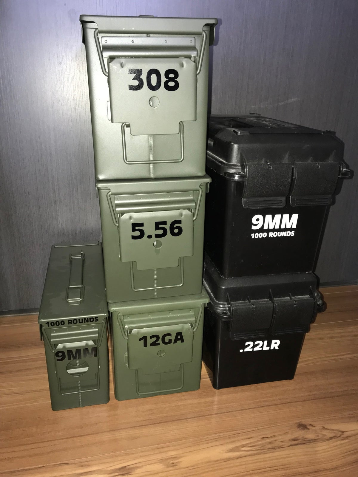 Ammo Can Caliber Identifier Decals