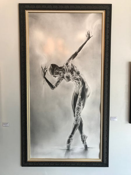 Image of 'Ballerina' Scale Print
