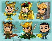Image of Evolution of Loki