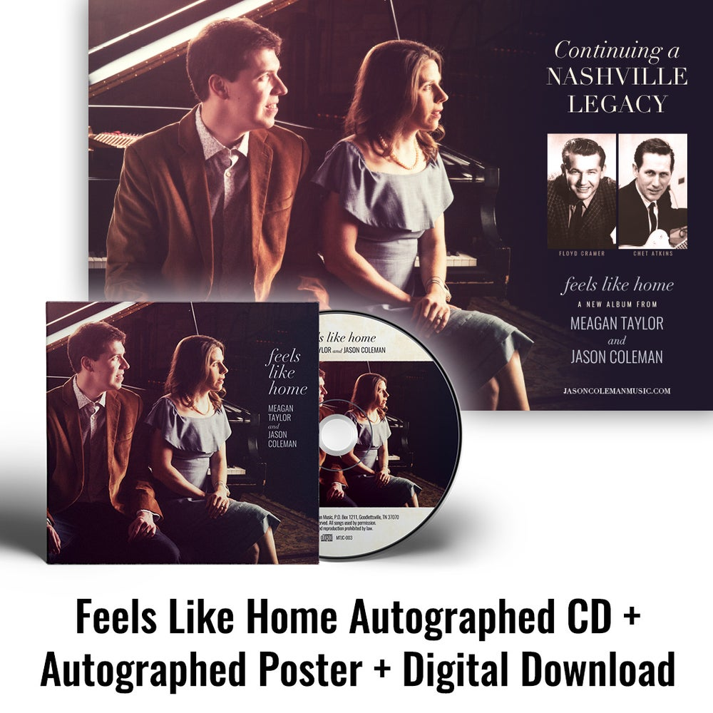 Image of Feels Like Home Autographed CD + Autographed Poster + Digital Download