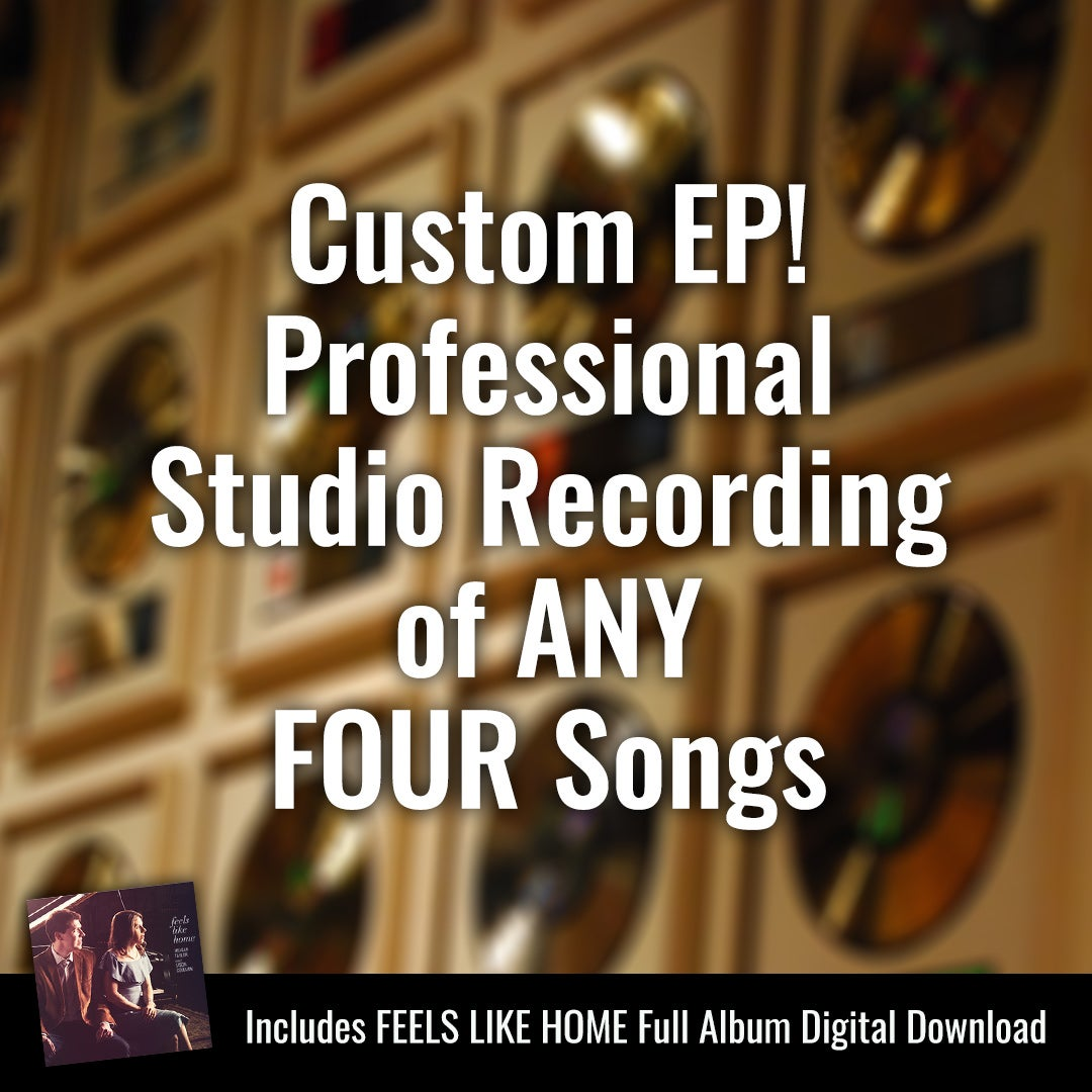 Image of A Custom EP Recorded Just for You! Professional Studio Recording of ANY FOUR Songs